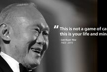 Remembering Lee Kuan Yew / Founding father of Singapore. Consummate statesman who put Singapore on the world map. Candid, forceful and visionary. This Pinterest Board is created solely to commemorate this great man. #rememberingleekuanyew