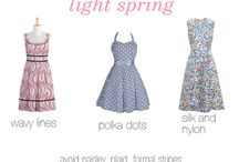 Light Pastel Spring Fabrication / print and pattern