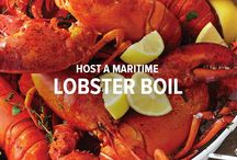 Host a Maritime Lobster Boil / Nothing says summer on the east coast like a good old fashioned lobster boil. You really can't go wrong when you're serving everyone's favourite Maritime seafood.