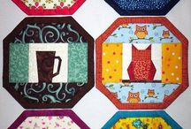 Mug Rugs, mats, coasters / Quilted small items
