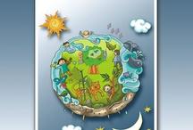 Ecología y reciclaje / Recursos para trabajar en clase la ecología y reciclaje