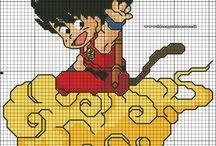 goku cross stitch