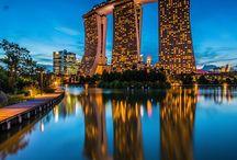 Giro del mondo / Viaggio di nozze intorno al mondo passando da Singapore, Australia, USA, Isole Fiji