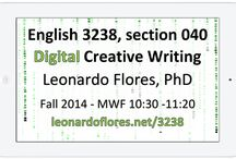 Digital Creative Writing / Pinterest board for UPRM students enrolled in English 3238 with Prof. Leonardo Flores. URL: leonardoflores.net/3238