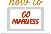My Quest For A Paperless Lifestyle / Banishing clutter from my life