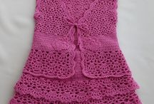 crochet:  dresses (baby/toddler)