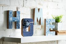 Make Market / On-trend materials like denim, galvanized metal, cork and chalk are perfect for décor and DIY. / by Michaels Stores