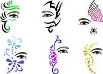 FP - Stencils / Stencils for face painting