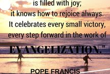 Catholic Church Quotes / Christian Quotes from Catholic Church. / Pope, Cardinal, Priest, New Evangelization, Faith and so on.