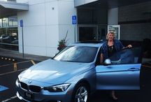 Customers and their new cars! / We love our Customers!  / by Kuni BMW