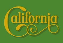 California Style / West-Coast Culture via Interiors, Graphics and Design. Contemporary & Vintage. Sophisticated & Kitsch.