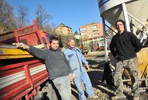 Sopralluogo al cantiere SPAZIO LILT del 7 dicembre / In occasione dell'abbattimento del muro che affaccia su Via Ivrea, LILT Biella ha organizzato un sopralluogo per mostrare l'avanzamento dei lavori.
