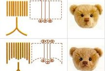 Doll and Bear Making Crafts / Collection of beautiful Handmade Teddy Bears and Dools, Tutorials, Patterns, Kits and much more