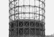 Industrial / gasometers, pylons and industrial buildings