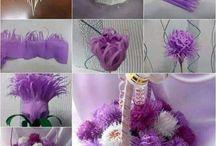 csinált virágok