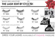 Eylure - The Lash Edit / This season, your lashes get their own wardrobe with Eylure's new Lash Edits. Each set comes with three lashes that transport you to a fashionable city, giving three different tailored looks.
