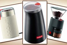 Bodum Coffee Grinders / Reviews of the best Bodum coffee grinders, as well as getting to know the company who builds them a bit better.