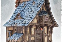 Model Kit - Architecture / Miniature Model Terrains and architecture for RPG, Movies and Games