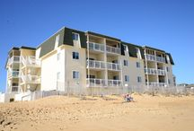 The Sands Condominiums / Kill Devil Hills: The Sands Condos offers your family the ideal uncomplicated, pain-free Outer Banks vacation. Each unit at The Sands Condominums offers guests fantastic beach & ocean views(steps from the beach), master bedrooms, nicely decorated living areas, and modern kitchens with the all the comforts of home, Plus a Large Community Swimming Pool to relax in! / by Joe Lamb, Jr.