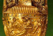 Objet en or grec