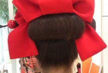 成人式 日本髪