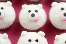 Cupcake ijsbeertje