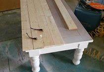 concertar mesa madeira