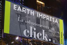 """EARTH impresa / Progetto per Earth Impresa una nuova start-up. Partiti da una semplice PAROLA che racchiudesse lavoro, amore e terra. Slogan sintetico ed immediato """"la soluzione in un click"""". Grazie per la visita."""