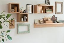 壁につけられる家具