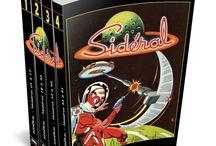 BD Sidéral / Retombez en enfance… L'intégrale de #Sidéral vient d'être rééditée!   Pour la petite histoire, Sidéral marque l'âge d'or de la BD en France (dans les années 1955-1965) et fit découvrir à la jeunesse de l'après-guerre la science-fiction et le fantastique.