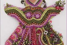 Bead Embroidery / Embroidery that could or does incorporate beads