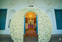 Church Decor from the House of Marriage Colours / Church Decors and Inspirations from Marriage Colours