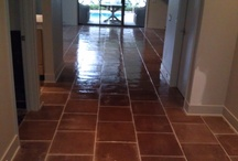 Can't Believe It's Concrete! / Did you know concrete can be made to look like most any type floor?  What a great low-maintenance addition to any home!