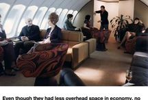 Airplanes interiors