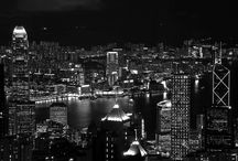 Incredible Cities in Black & White / Various Cities around the world in Black & White
