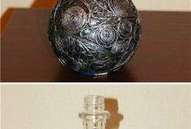 dekorace / Dekorace vinna flasa