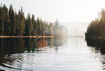 NATURE : Lakes & Rivers