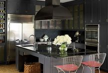 Examples of bold kitchens