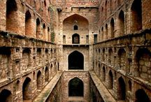 The Steps To The Past- Agrasen Ki Baoli / When I had a chance to visit Delhi, India, to attend a cousin's wedding; I had only one thing written on my 'to-do list', visit this step-well, known by the name Agrasen Ki Baoli Located amidst the high rises, this may easily escape your attention