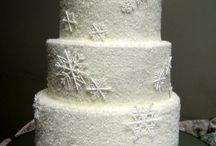 Winter wedding cake / gâteau de mariage d'hiver / Ideas for the next wedding cake I'm going to make ..... Des idées pour le prochain gâteau de mariage que je vais faire....