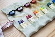 Crayon pouches / by Marley Minamide