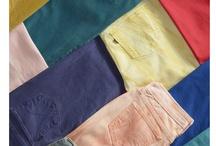 jeans kolorowy