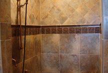 bathroom showers ideas / Tile shower ideas / by Maggie Castaneda