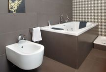 Bathroom Design Gallery / Application of our quartz products in Bathrooms
