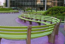 Benches and forniture