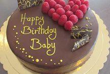 Geburtstag / Wir zeigen hier unsere Kreationen auf individuellen Wunsch. Happy Birthday!