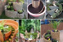 ✿❤GARDENERS>✿<JARDINEROS❤✿ / mini jardines, fuentes indoors, y mas fantasías creativas / by Emy Briceño