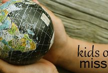 """Kids On A Mission / Detailed lesson plans provide everything you need to """"travel around the world"""" with our child.  Discover new lands, new cultures, new people, and how your child can be part of bringing Jesus there."""