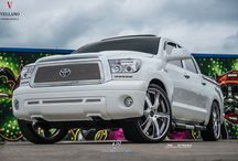 "Toyota Tundra l Vellano VTK Standard / Stunning Toyota Tundra sitting on a set of Beautiful Vellano VTK 26"" Standard Three Piece Forged Wheels beautiful combination Let us know what you guys think?"