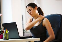 Stretches for the Office / Can't get away from the office and let SpaFit massage the aches and pains out of your body? Here are some helpful stretches that can make your whole body feel better during hours of sitting in a cubicle.